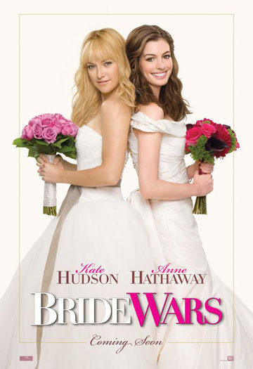 Hollywood movies 2009 Bride-wars-poster