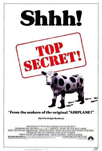 Movie Poster Image for Top Secret!